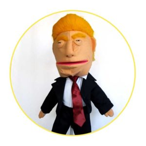Picture to Puppet Gallery Donald Trump hand puppet