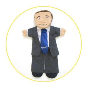 Bespoke Likeness Puppet Mr Manager