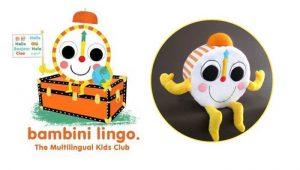 Custom soft toys bambinilingo clock