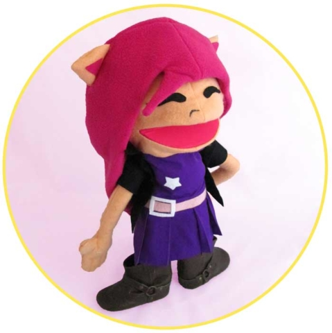 Picture to Puppet Gallery pink hair