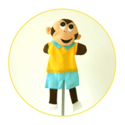 Picture to Puppet Gallery monkey
