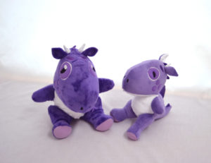 Dragon soft toys made for a wholesale soft toy order