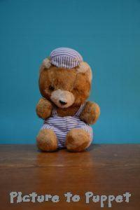 teddy bear hospital doll hospital bear with new dungarees