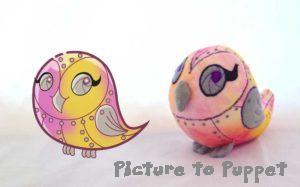 personalised soft toy robotic owl