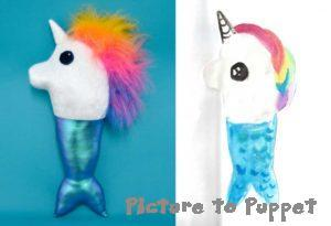 mermaid unicorn custom stuffed animals from drawings