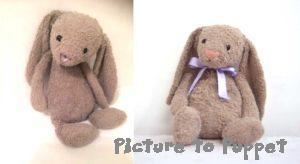 teddy bear restoration bunny before and after soft toy repair
