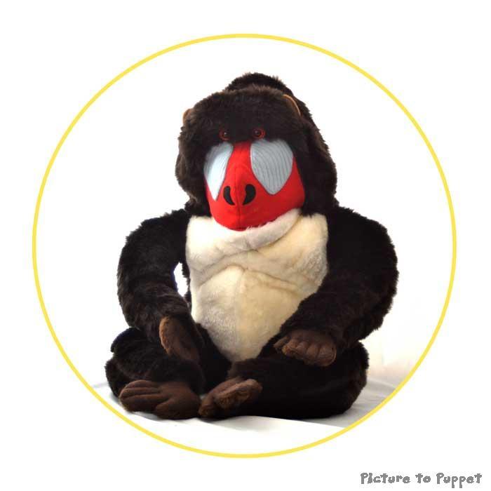 Baboon Puppet