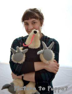 custom plush toys no minimum girl hugging a tamandua