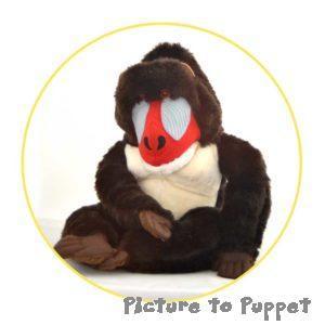 Custom Puppet Baboon