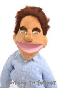 Celebrity Puppet Arnold Schwarzenegger Puppet