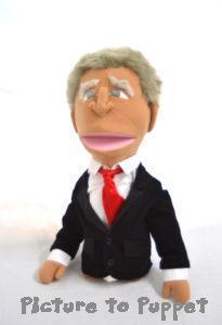 Caricature Puppet George Bush Puppet