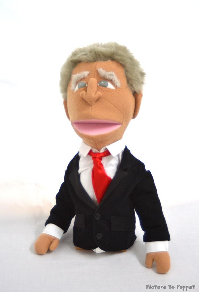 Caricature Puppet George Bush Puppet