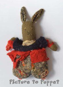Leith toy hospital bunny repair before picture