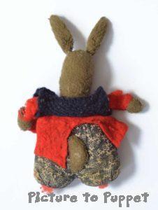 toy hospital bunny before repair