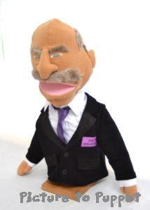 Dr Phil Puppet Caricature Puppet