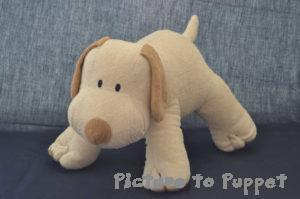 stuffed dog junk rescue