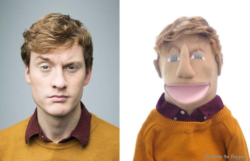 James Acaster Puppet
