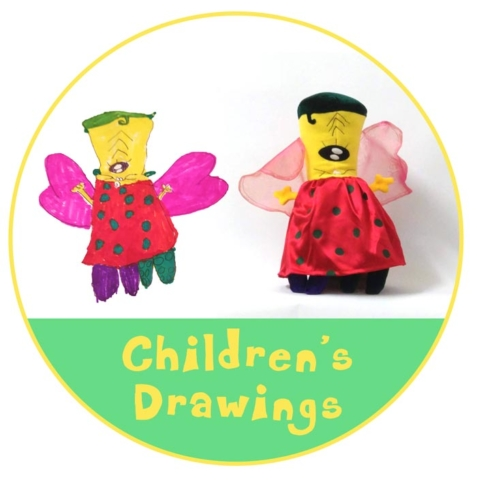 Toys based on Children's Drawings