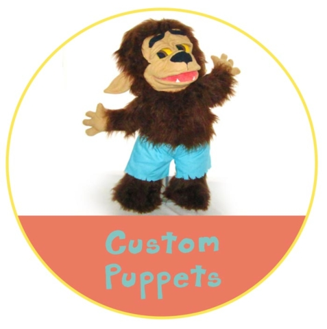 Custom Puppets by Picture to Puppet