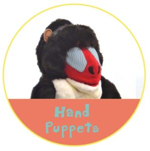 Hand Puppets Button