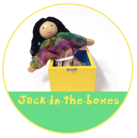 Custom Jack in the boxes by Picture to Puppet