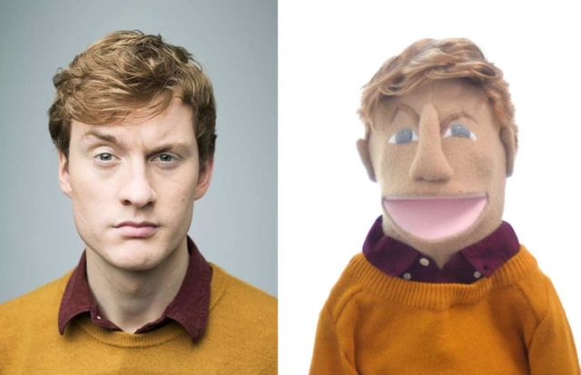 James Acaster Puppet on Hypothetical by PIcture to Puppet