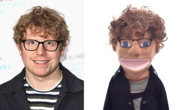 Josh Widdicombe Puppet on Hypothetical by Picture to Puppet