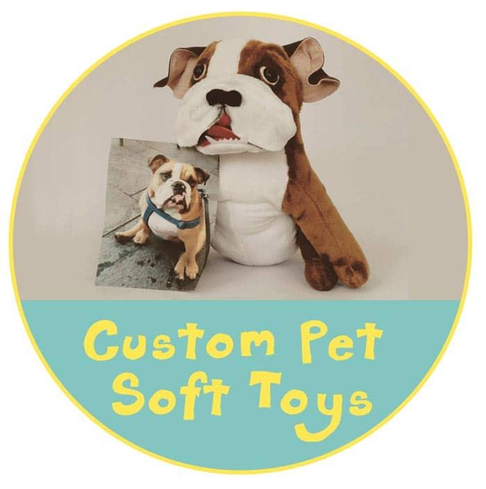 Custom Pet Soft Toy Button