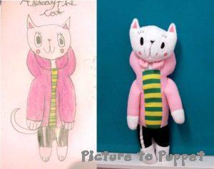 Childrens Drawing Soft Toy