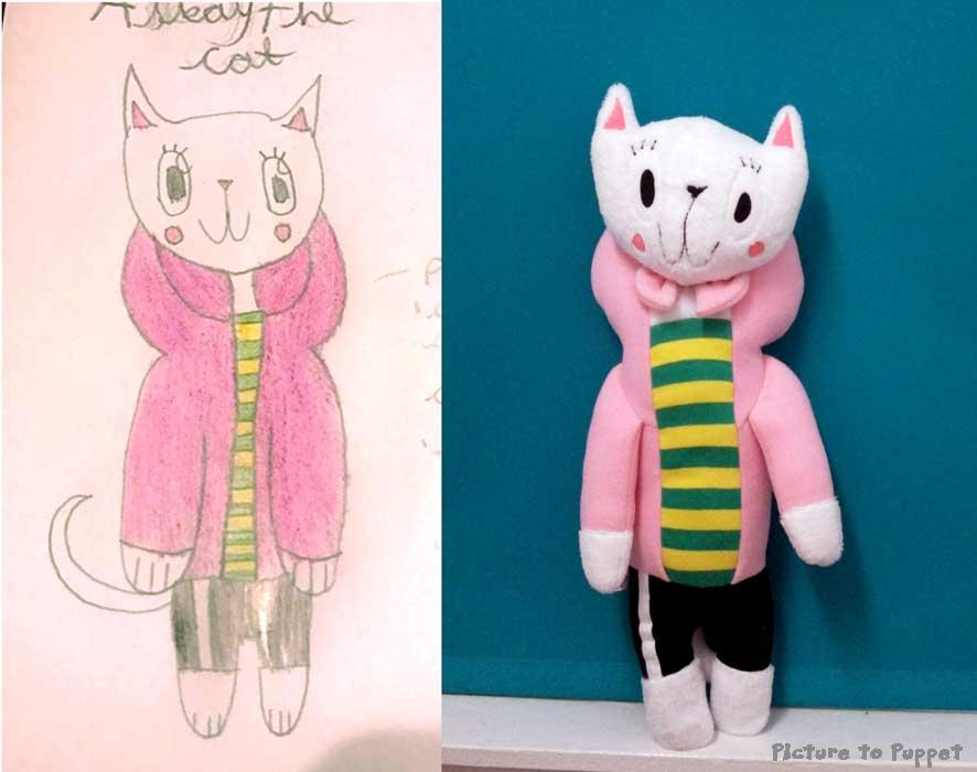 Drawing to Toy