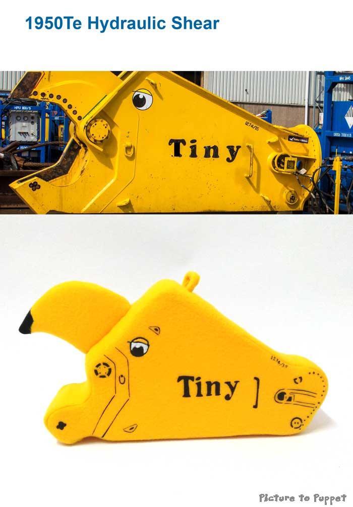 Custom Corporate Mascot Toy