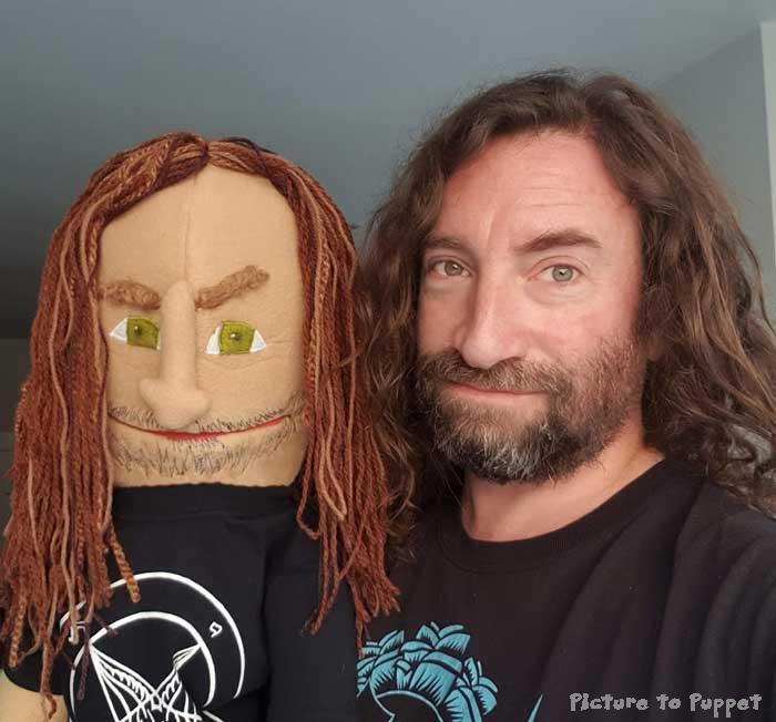 Custom likeness puppet
