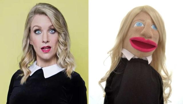 Rachel Parris Puppet