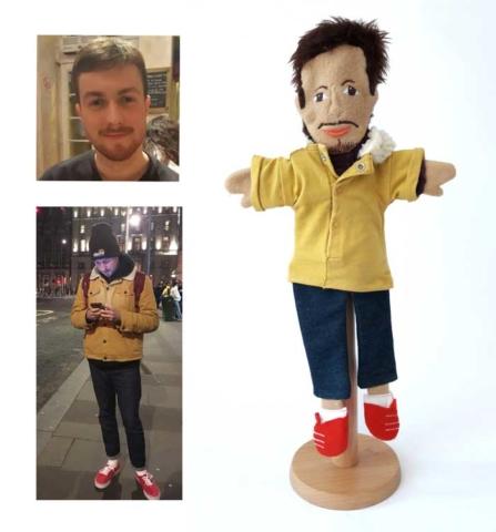 Likeness Glove Puppet