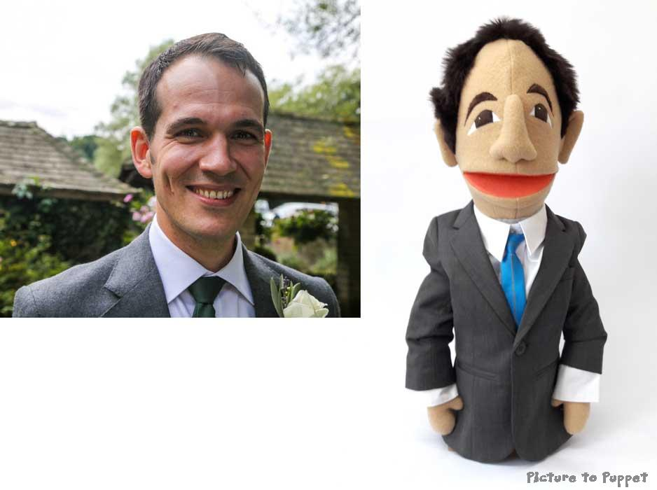 Likeness puppet half body