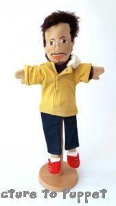 Glove Puppet Stand