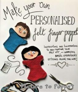 Finger Puppet Making Kit