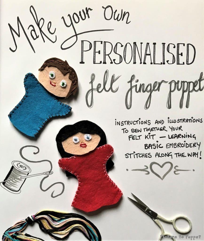 Finger Puppet Making Kit