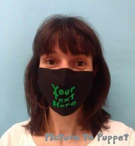 custom printed face mask