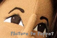 Puppet Eyelashes