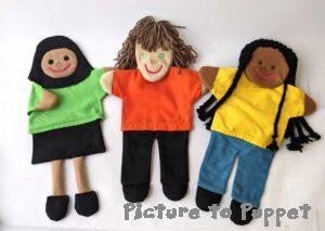 Build a Glove Puppet